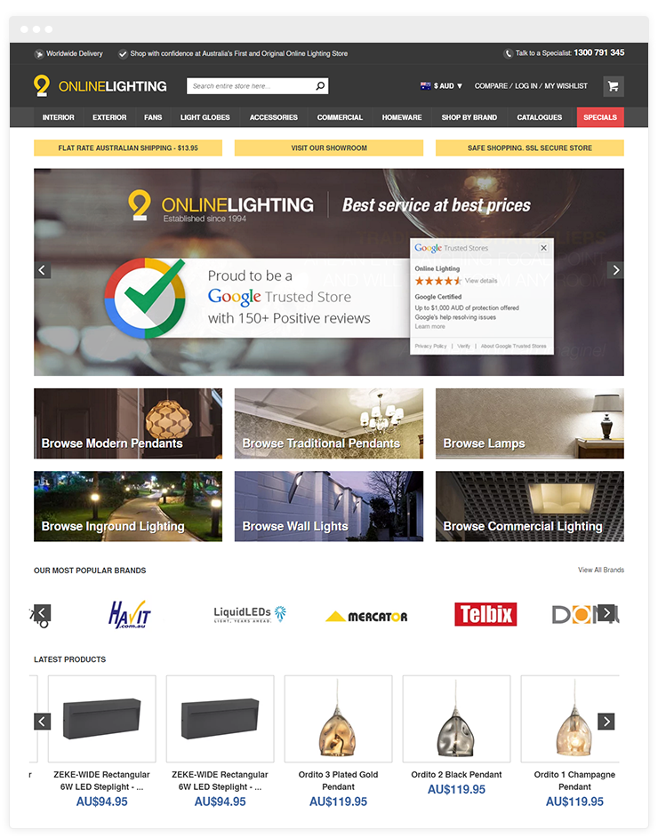 Online Lighting Australia