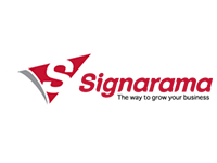 logo-signarama, a client by AdVisible